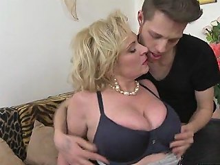 Busty MILF Oral With Cum In Mouth